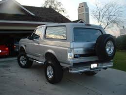 bs96bronco 1996 ford bronco specs photos modification info at