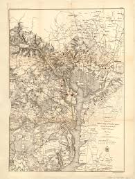 Map Of Dc Area Civil War Military Map Of D C Area Ghosts Of Dc