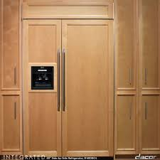 built in refrigerator cabinet chill out or buying a new refrigerator north tacoma remodeling
