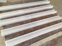 china crystal white marble borders mosaic borders rail molding