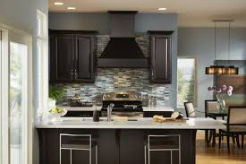 Top Of Kitchen Cabinet Decorating Ideas Chocolate Kitchen Cabinets Interior Design Ideas Luxury On