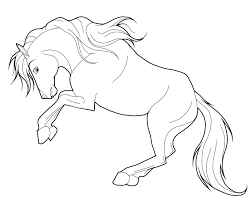 little riding horse animal coloring pages race images race