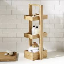 the most durability and useful of teak corner shower caddy design