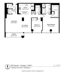 Floor Plans Chicago The Pearson Floor Plans 250 E Pearson
