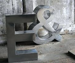 Amazing Metal Letters for Wall Uk Also Letters for Wall