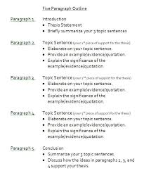 sample 5 paragraph essay outline paragraph and english