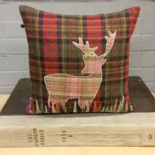 Stag Cushions Cushions Country House Interiors