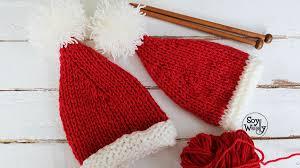bufandas mis tejidos tejer en navidad manualidades navidenas bufanda cómo tejer un gorro de navidad fácil en dos agujas cómo tejer dos
