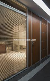 hanging room divider partition interior sound proof wooden mixed