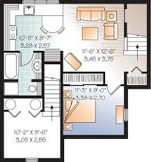 house plan with basement beautiful basement suite house plan hunters