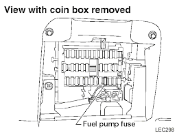 which is the fuel pump fuse nissan sentra forum b15 b16