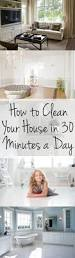 how to clean your house in 30 minutes a day wrapped in rust