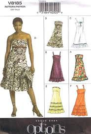 vogue wedding dress patterns vogue 8185 easy options empire waist dress pattern size 6 10