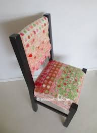 Crochet Armchair Covers Small Grannies Project Chair Cover Elisabeth Andrée