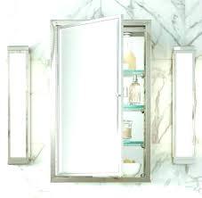 recessed medicine cabinet ikea recessed mirrored medicine cabinet electricnest info