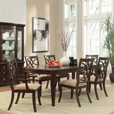 7pc Dining Room Sets Homesullivan Hampton 7 Piece Espresso Dining Set 402546 96 7pc