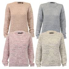 knitted sweater mohair jumper brave soul womens knitted sweater crew neck