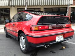 1990 honda crx si original paint southern california all stock