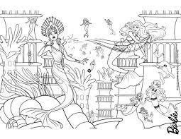 eris afraid merliah barbie coloring pages hellokids