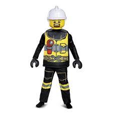Fireman Halloween Costume Kids Lego Firefighter Deluxe Halloween Costume U2013 Lego Costumes