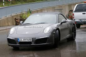 2016 porsche 911 turbo redesign engine and release date