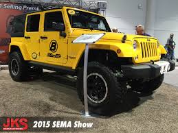 sema jeep yj jks on the road to sema 2015