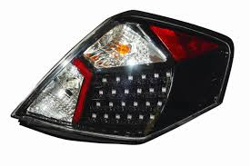 nissan altima 2015 tail light amazon com depo m15 1902p as2 nissan altima sedan black led tail