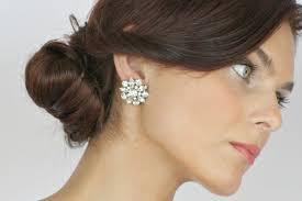 boucle d oreille mariage quels bijoux porter lors de sa cérémonie de mariage