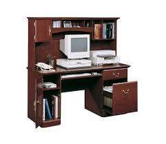 cherry desk with hutch sauder harbor view cherry puter desk with hutch best desk design