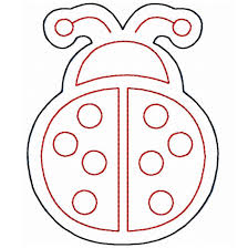 photos of ladybug outline template free clip art 3 wikiclipart