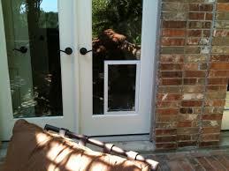 pet door in sliding glass patio doors patio door with dog hightech power pet automatic in