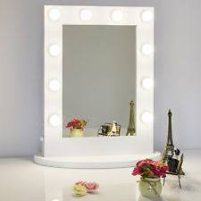 light up makeup mirror chende white hollywood lighted makeup vanity mirror light with