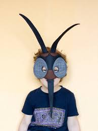 halloween bug costumes mosquito felt mask insect costume children mask