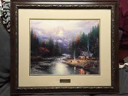 home interior picture by thomas kinkade end of perfect day 11
