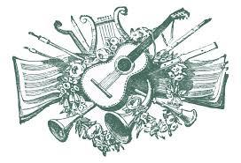 vintage clip antique musical printers ornaments the