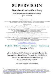 """PDF """"Genderintegrität"""" als neues Leitparadigma für Supervision"""