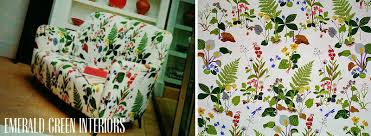 Floral Interiors Floral Pattern Upholstery Corinne Kowal Interiors