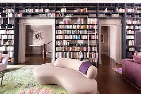 Wall Bookcases With Doors 62 Home Library Design Ideas With Stunning Visual Effect
