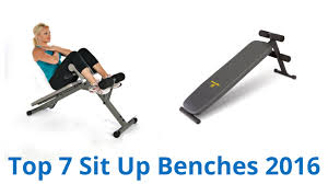 7 best sit up benches 2016 youtube