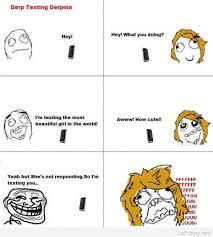 Funny Memes Comics - derp and derpina humor rage comics