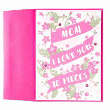 mothers day cards you to pieces s day card