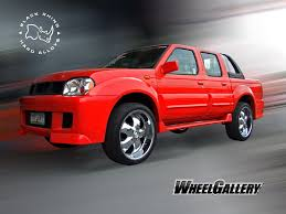 2000 nissan frontier custom concept one wheels innovative technology
