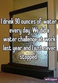 Water Challenge How Does It Work Drink 90 Ounces Of Water Every Day We Did A Water Challenge At