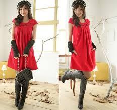world style winter dress fashion