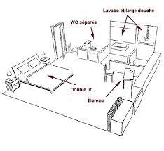 plan d une chambre chambre d hôte plan chez eugénie la closerie de montour