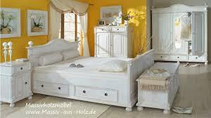 Schlafzimmer Ideen Landhaus Bett Mit Schubkästen Im Landhausstil Youtube