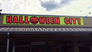 halloween city 2016 halloween displays walkthrough youtube