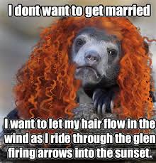 Patient Bear Meme - brave confession bear meme meets merida