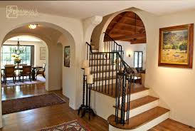 Mediterranean Design Style Old California Mission Style Staircase Foyer Mediterranean