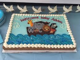 noah ark baby shower noah s ark theme baby shower cookie cake yelp
